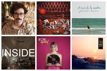 Las portadas de los discos y EP recomendados de este mes