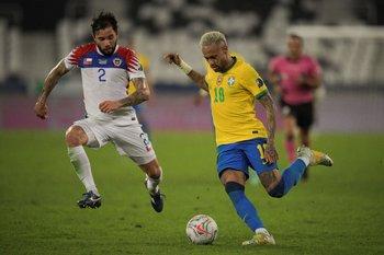 Brasil venció a Chile