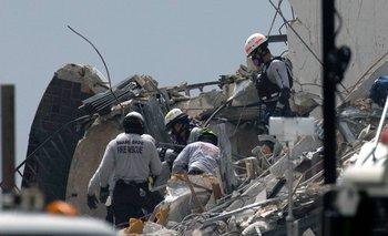 Las tareas de búsqueda entre los escombros prosiguen porque aún hay 124 desaparecidos