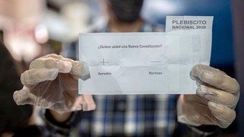 Un 78% de la población chilena votó a favor del cambio de Constitución en octubre del 2020