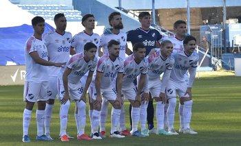 El equipo e Nacional en el clásico del Parque
