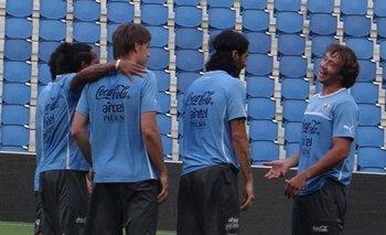 Tal como en la selección, Lugano y Abreu participaron juntos en una campaña del MSP