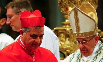 El cardenal Giovanni Angelo Becciu fue un cercano asesor del papa Fracisco
