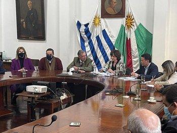 Autoridades del MGAP participaron de la asunción de Mónica Silva como presidenta de la Federación Rural.