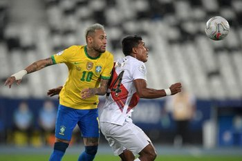 Neymar contra Raziel García