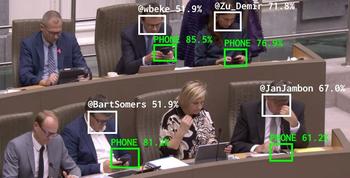 Así muestra el sistema cuando alguien mira el celular.