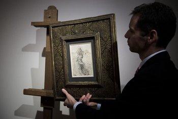 El martirio de San Sebastián fue atribuido a Leonardo Da Vinci