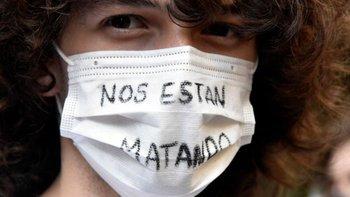 En varias ciudades españoles hubo manifestaciones de protesta por el asesinato de Samuel, que se investiga si pudo ser un crimen de odio.