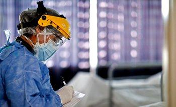 Camas de cuidados intensivos en Argentina