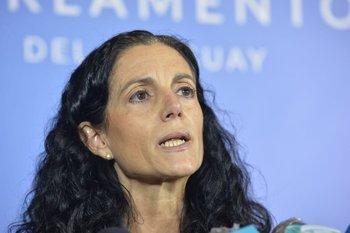 Azucena Arbeleche, ministra de Economía y Finanzas