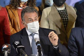 El ministro Daniel Salinas