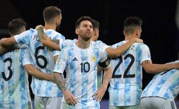 Messi en los penales ante Colombia