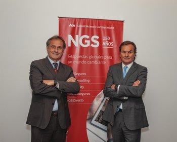 Alberto Puig y Luis Puig, directores de NGS Seguros.
