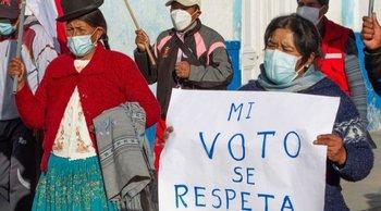 Los votantes de ambos partidos han exigido que se respete la voluntad popular