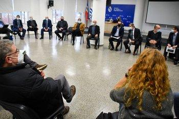 Reunión del Consejo Superior Tripartito. (Foto archivo)