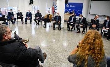 Reunión del Consejo Superior Tripartito (archivo),