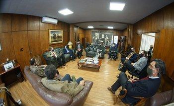 Tras la reunión, integrantes de Campo Unido destacaron el buen diálogo que tuvieron con el ministro.