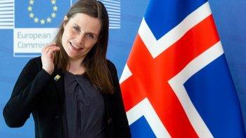 Katrin Jakobsdottir, primera ministra de Islandia