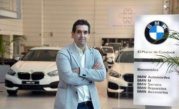 Pablo Costoya es el gerente general de BMW Uruguay