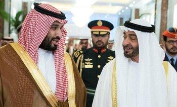 Poco a poco han aparecido grietas en la alianza forjada por los príncipes herederos de Arabia Saudita y Abu Dabi