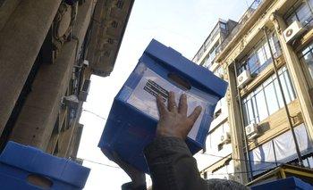 El 8 de julio el Frente Amplio y las organizaciones sociales presentaron cerca de 800 mil firmas ante la Corte Electoral
