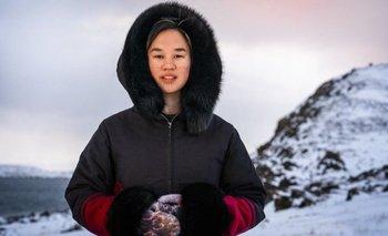 Mumilaaq Qaqqaq es parlamentaria canadiense e indígena inuk