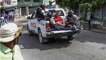 Según la policía haitiana, la mayoría de los sospechosos son colombianos.