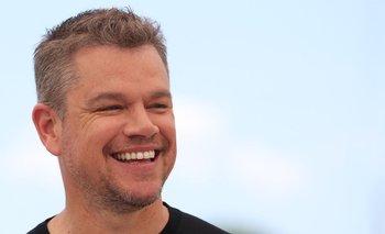 Matt Damon en Cannes