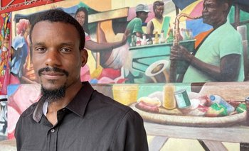 Jean Dondy Cidelca es un joven arquitecto de Little Haiti que promueve la cultura local
