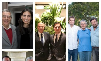 Isabelle Chaquiriand, Ignacio Añón, Francisco Pache, Santiago Deicas y Elvira Domínguez comparten la pasión laboral junto a sus padres