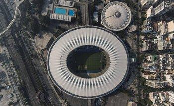 Vista aérea del Maracaná