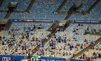 Público en la Copa América 2021