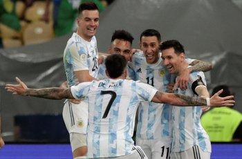 El festejo del gol