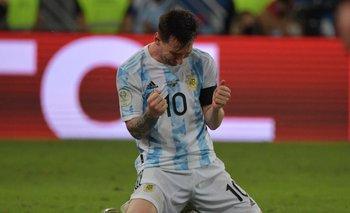 Messi vuelve a jugar con su público