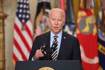 La participación militar estadounidense en Afganistán concluiría el 31 de agosto.
