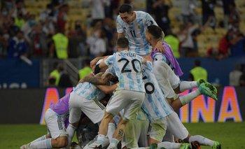 Todos juntos: el festejo argentino