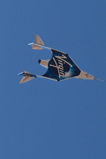 Branson fundó Virgin Galactic hace 17 años con la idea de poder llegar al espacio.