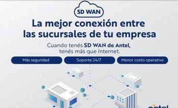 Con SD-WAN de Antel, el cliente podrá establecer una nueva red privada de manera rápida y dinámica, escalable, y segura.