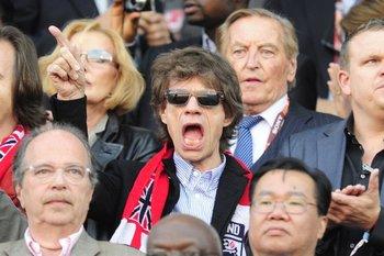 El cantante se encuentra en Londres para trabajar en el último álbum del los Rolling Stones