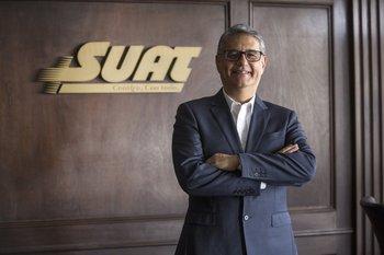 Guillermo Vázquez, gerente general de Suat