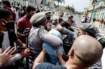 Las protestas iniciaron el domingo en Cuba