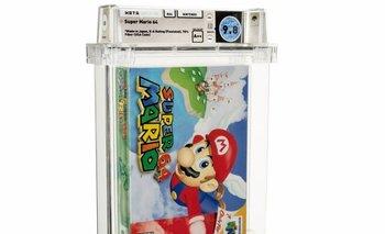 Copia sellada de Super Mario 64