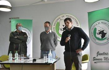 Wilson Cabrera, Walter Frisch y Leandro Galarraga.