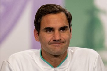 Será difícil volver a ver a Federer en el circuito
