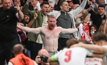 60.000 personas asistieron a la final de la Euro en Wembley.