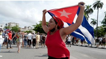 """""""Los cubanos ya no tienen miedo y el gobierno que los dirige no sabe cómo lidiar con ciudadanos sin miedo"""""""