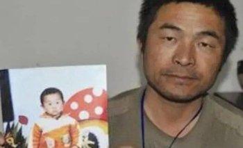 El hijo de Guo Gangtang fue secuestrado cuando tenía apenas dos años.