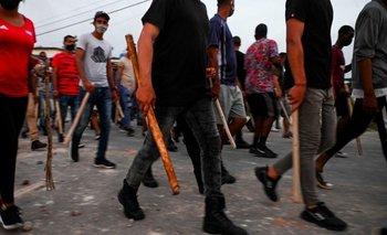 Las protestas en la isla caribeña transcurren desde el pasado domingo