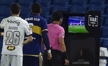 El VAR en la Copa Libertadores