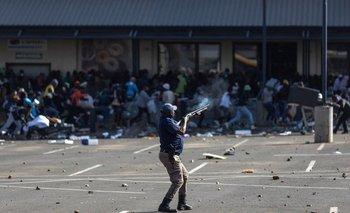 Las protestas comenzaron en la provincia de KwaZulu-Natal, en el este del país